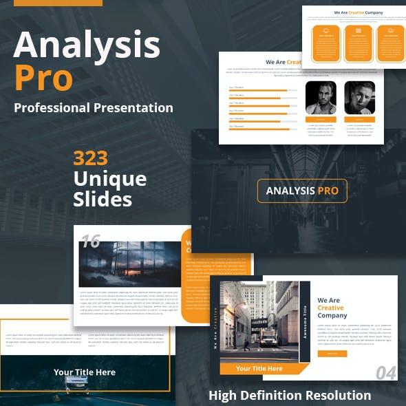 Analysis Pro Powerpoint Template