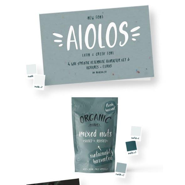 Aiolos the Greek Font