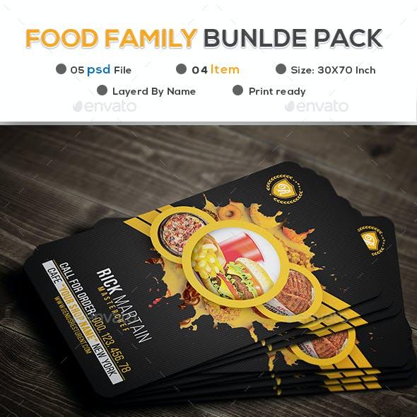 Food Family Bundle Pack