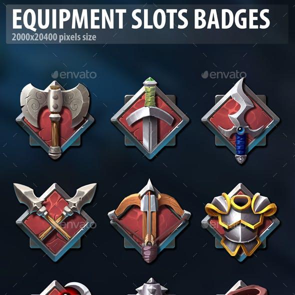 Equipment Slots Badges