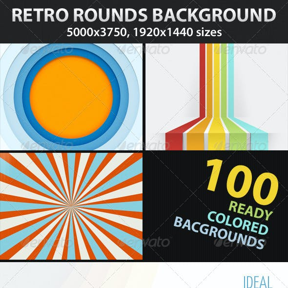 Retro Backgrounds Mega Bundle