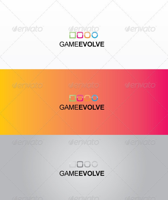 Game evolve - Objects Logo Templates