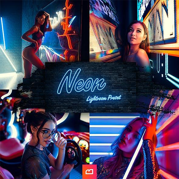 Artistic Collection - Neon Lightroom preset