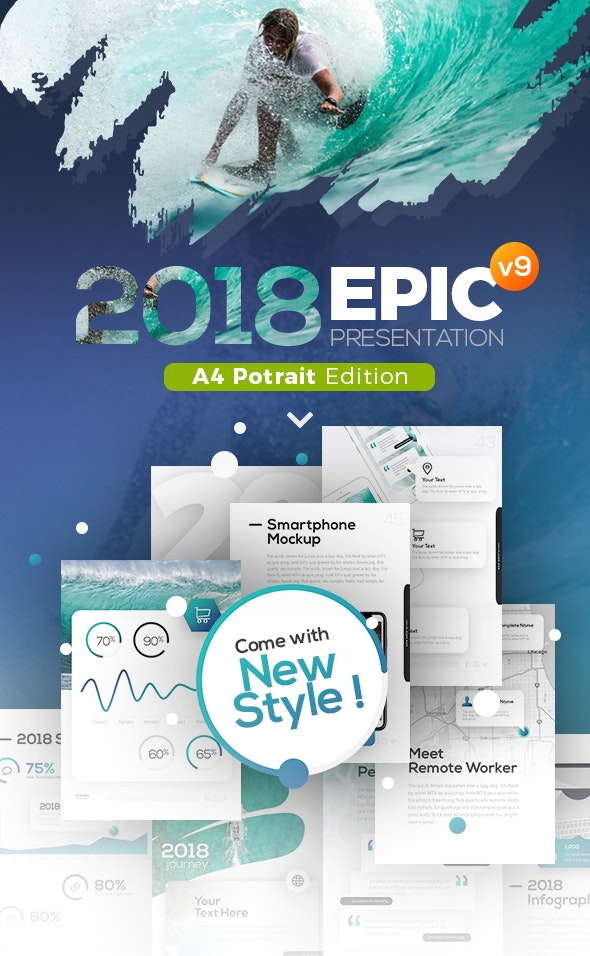 2018 Potrait Presentation Template - PowerPoint Templates Presentation Templates
