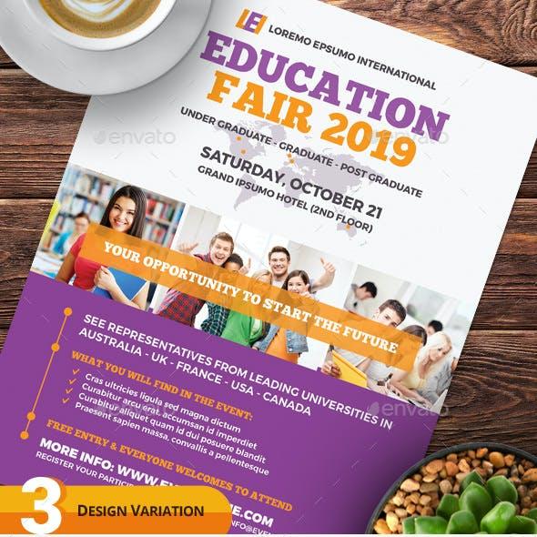 Education Fair Flyer Templates
