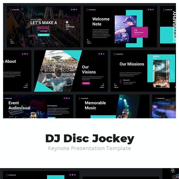 DJ Disc Jockey Keynote Presentation