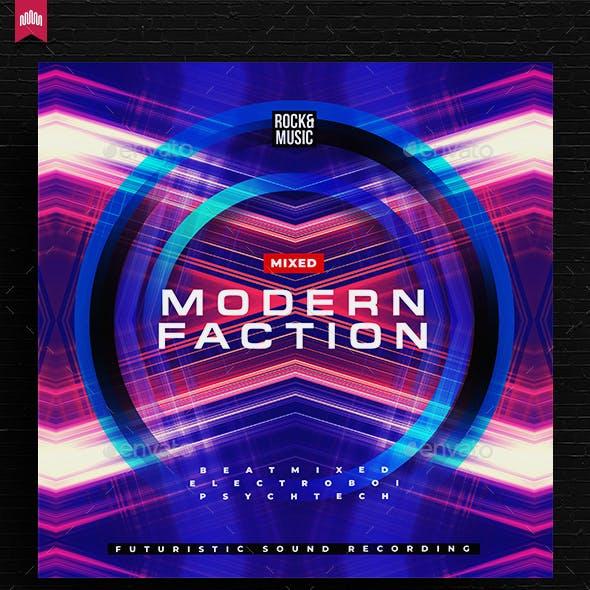 Modern Faction - Music Album Cover Artwork
