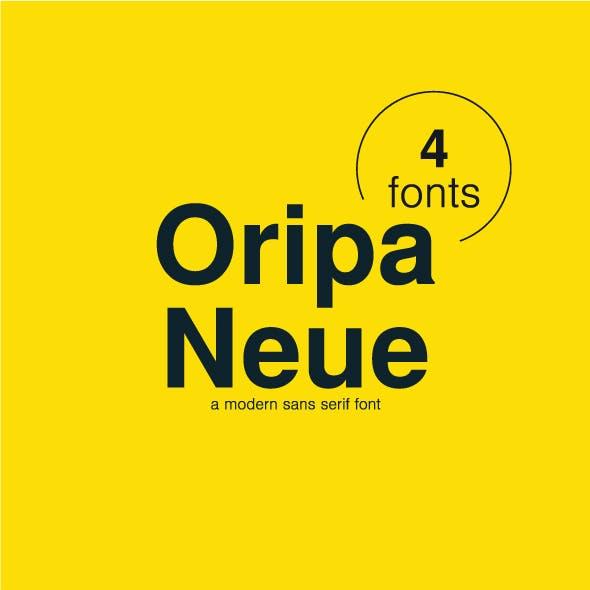 Oripa Neue Sans