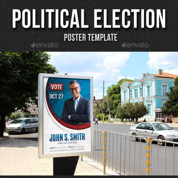 Political Election Poster v3