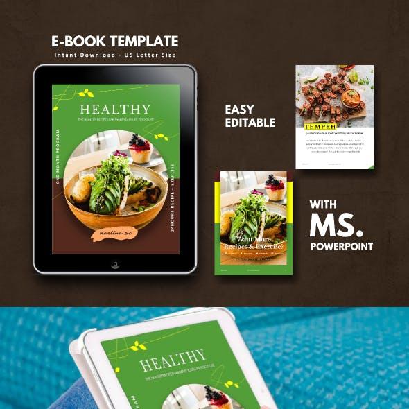 Vegetarian Recipe eBook Template