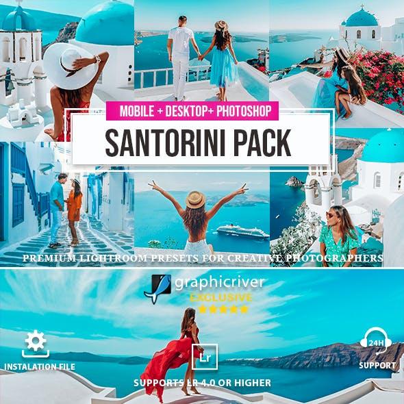 Santorini Collection - Lightroom Presets