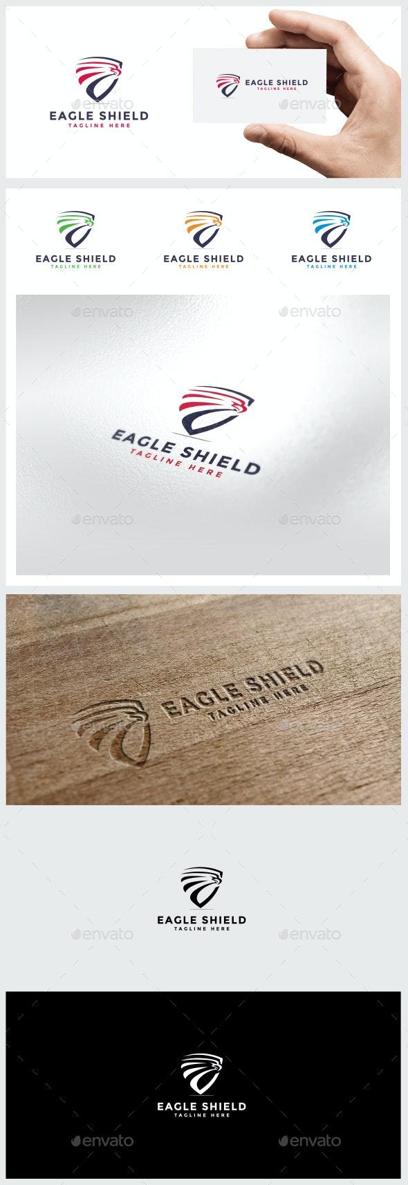 Eagle / Shield Logo - Logo Templates