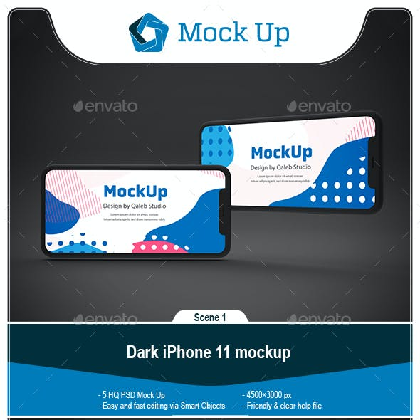 Dark Phone 11 Mockup