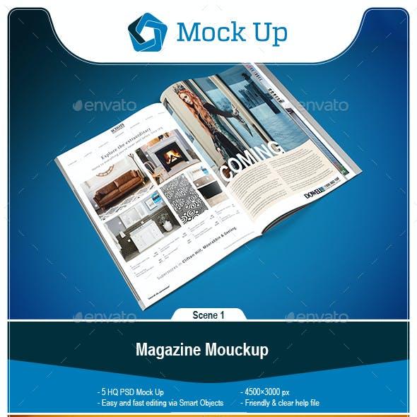 Magazine Mouckup