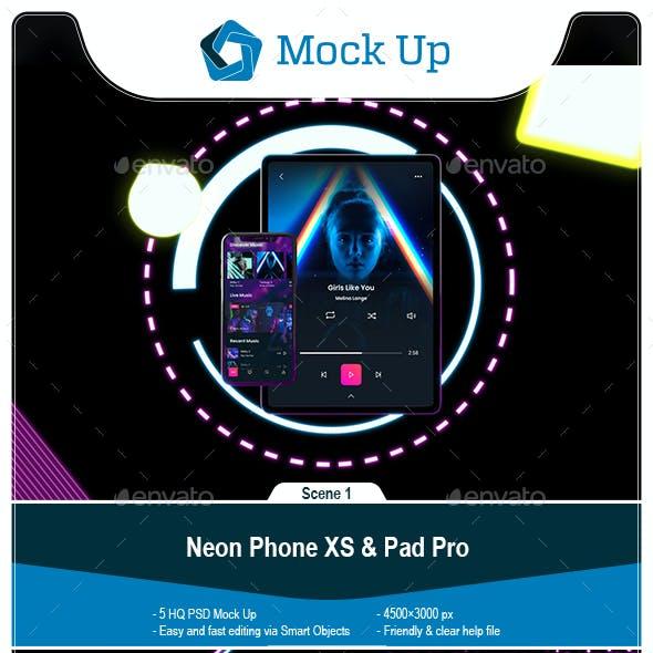 Neon Phone XS & tablet Pro