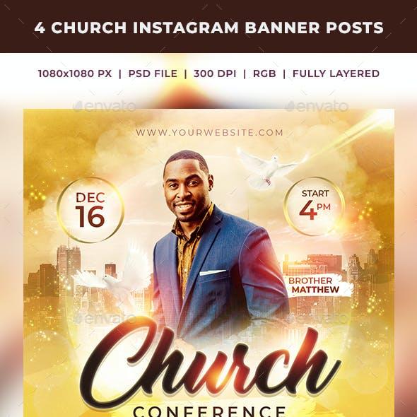 Church Instagram Banner Posts 3
