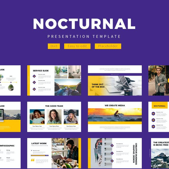 Nocturnal Creative Business - PowerPoint