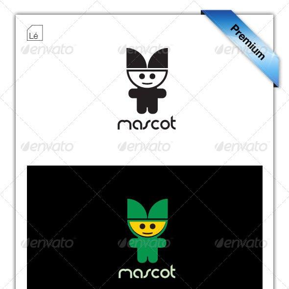 Eco Mascot Gaming Kids Logo
