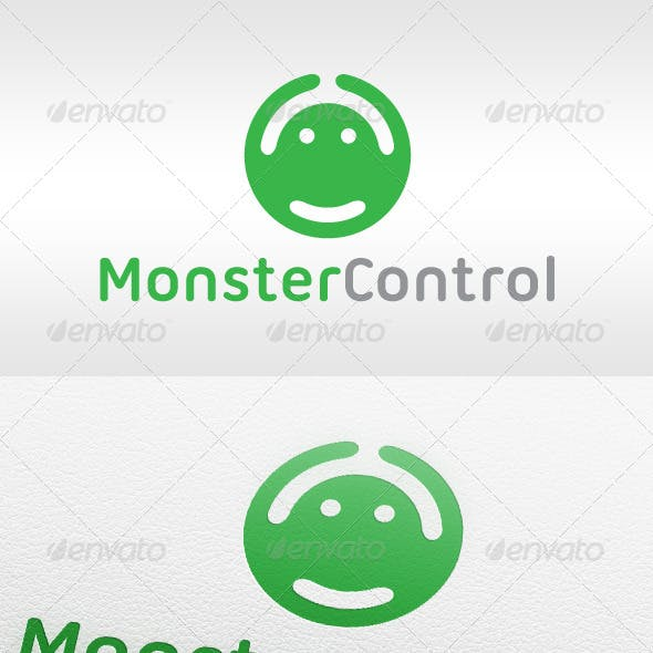 Monster Control Gaming - Logo Template