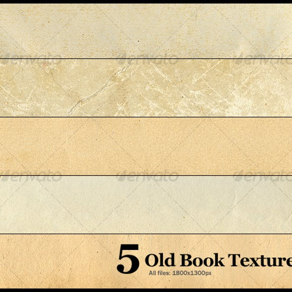 5 Old Book Textures