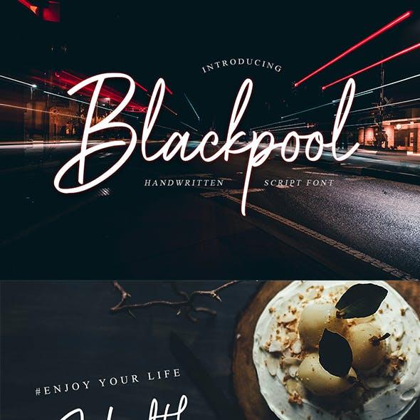Blackpool - Handwritten Script