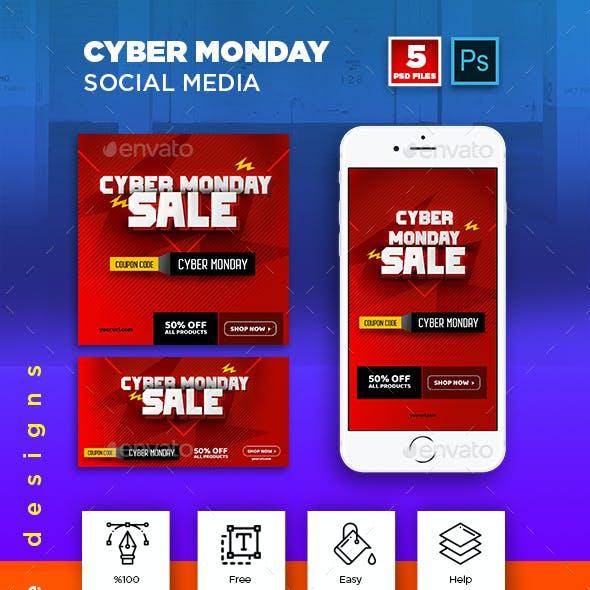 Cyber Monday Social Media Pack