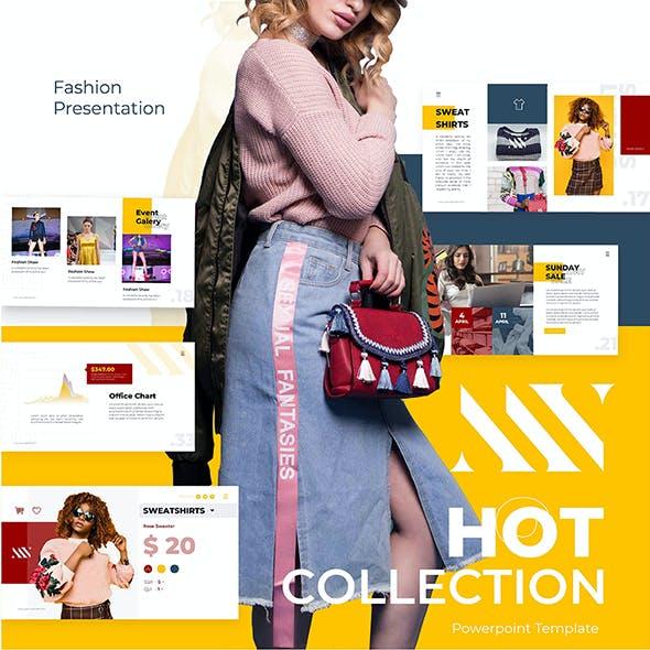 MV Clothes Fashion PowerPoint Presentation Template