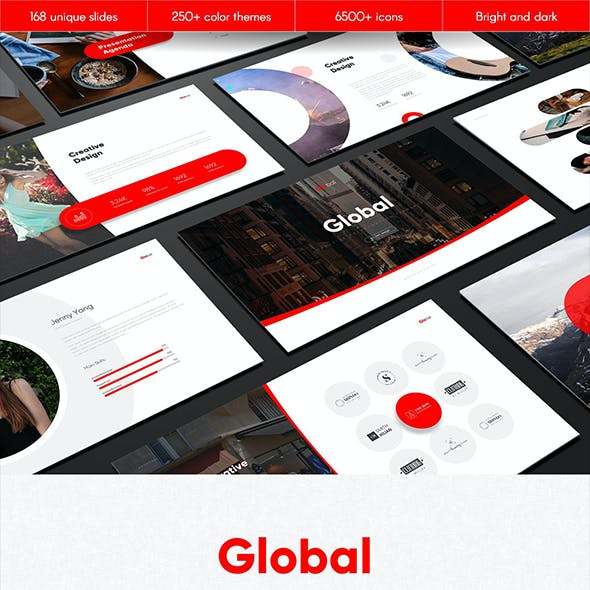 Global Multipurpose PowerPoint Template