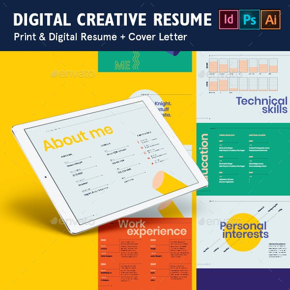 Digital Creative Resume