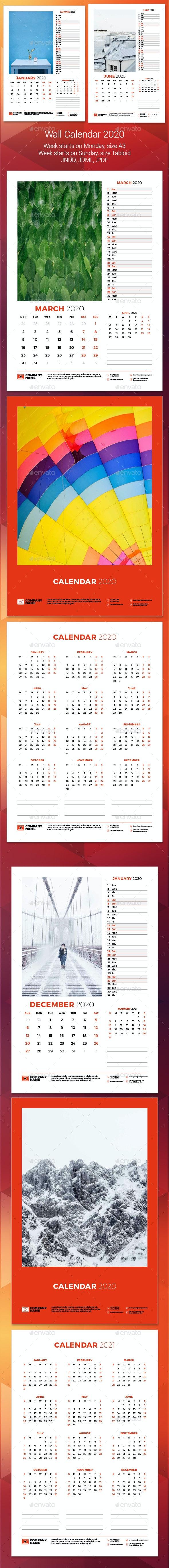 Wall Calendar 2020 - Calendars Stationery