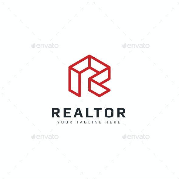 Realtor - Letter R Logo