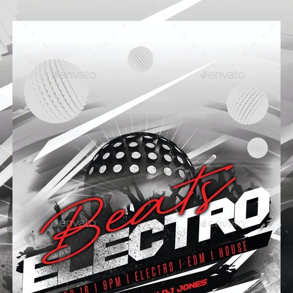 Electro EDM Party Flyer