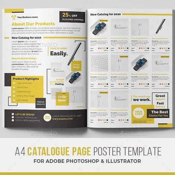 Product Catalogue Poster
