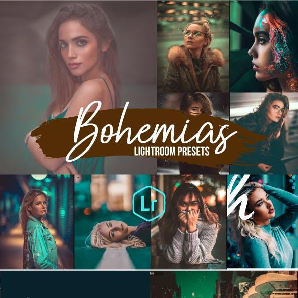 Bohemia Portrait Lightroom Presets