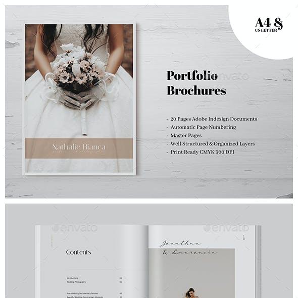Wedding Photography Portfolio Brochures