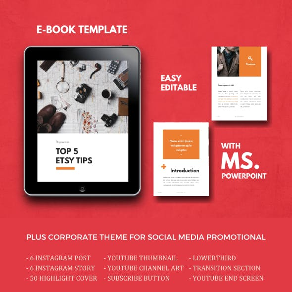 Tips eBook PowerPoint Template