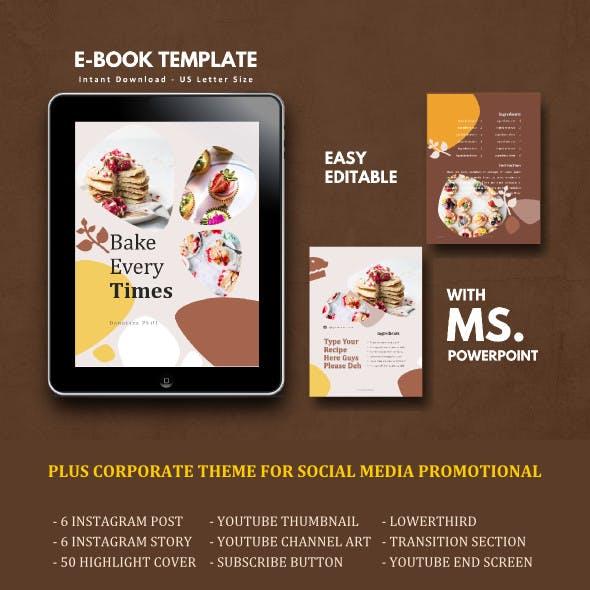 Recipe Book eBook Template