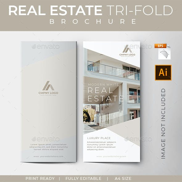 Clean Trifold Brochure - Real Estate