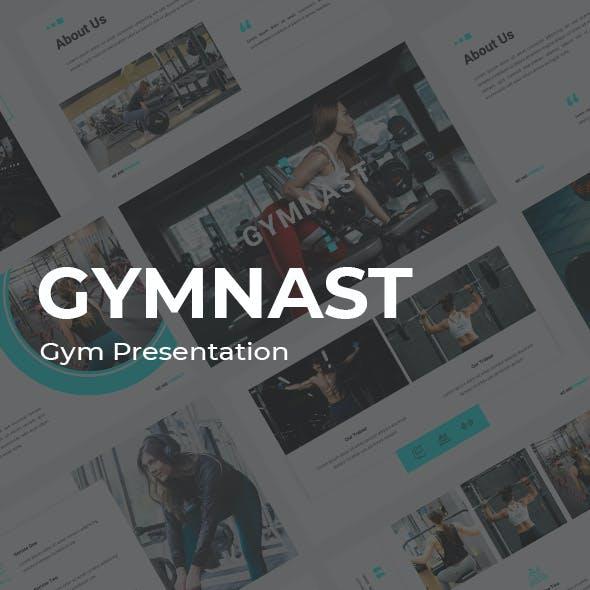 Gymnast Gym Google Slides