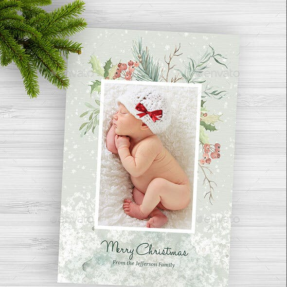 2 Christmas Photo Cards