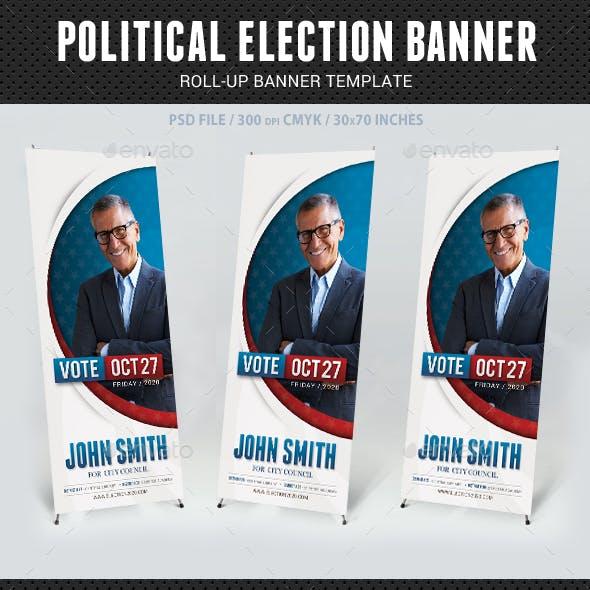 Political Election Banner v4
