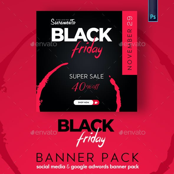 Black Friday Banner Pack