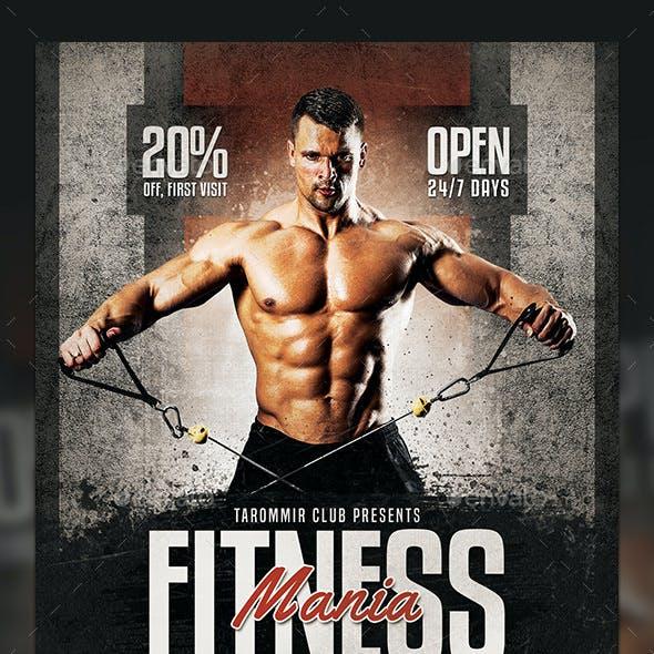 Fitness Mania Flyer