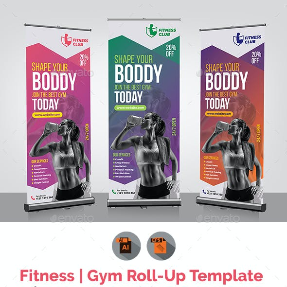 Fitness Rollup Template
