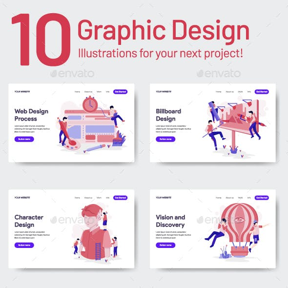 10 Graphic Design Illustration