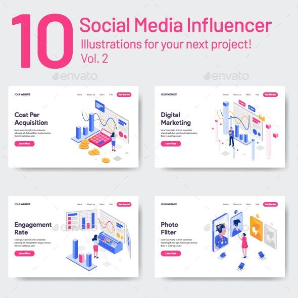 10 Social Media Influencer Vol 2