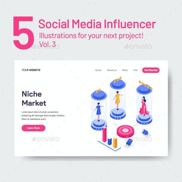 5 Social Media Influencers Vol 3