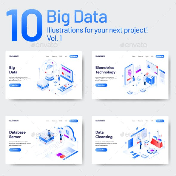 10 Data Illustration Vol 1