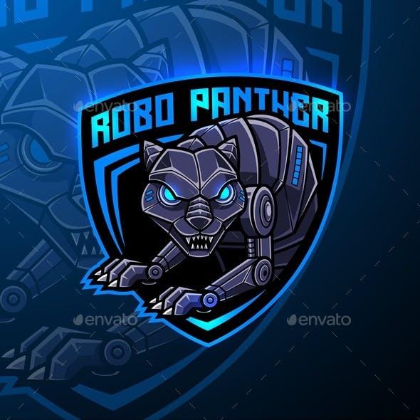 Panther Robot Esport Mascot