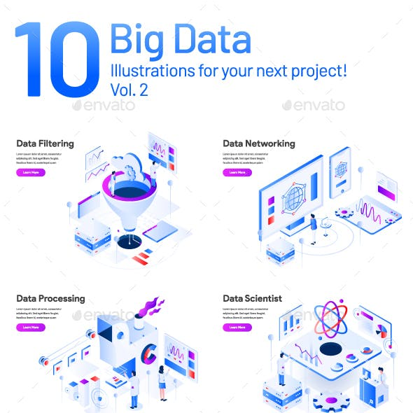 10 Data Illustration Vol 2